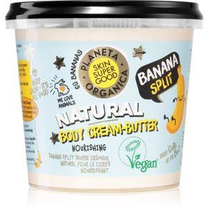 Planeta Organica Banana Split vyživující tělové máslo 360 ml