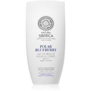 Natura Siberica Sibérie Blanche Polar Blueberry pečující tělové mléko