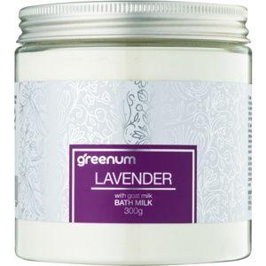 Greenum Lavender mléko do koupele v prášku