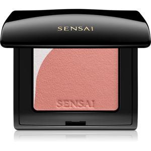 Sensai Blooming Blush rozjasňující tvářenka se štětečkem odstín 05 Blooming Beige 4 g