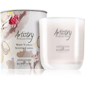 Ashleigh & Burwood London Artistry Collection White Vanilla vonná svíčka 200 g