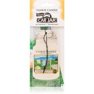 Yankee Candle Clean Cotton vonná auto visačka