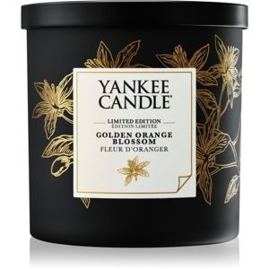 Yankee Candle Golden Orange Blossom vonná svíčka 198 g malá