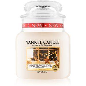 Yankee Candle Winter Wonder vonná svíčka 411 g Classic střední