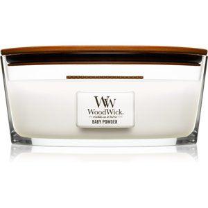Woodwick Baby Powder vonná svíčka 453,6 g Hearthwick