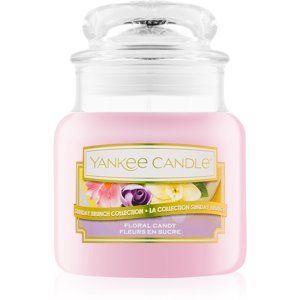 Yankee Candle Floral Candy vonná svíčka 104 g Classic malá