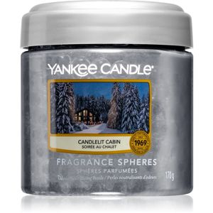 Yankee Candle Candlelit Cabin vonné perly 170 g