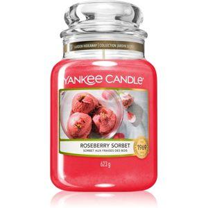 Yankee Candle Roseberry Sorbet vonná svíčka Classic velká 623 g