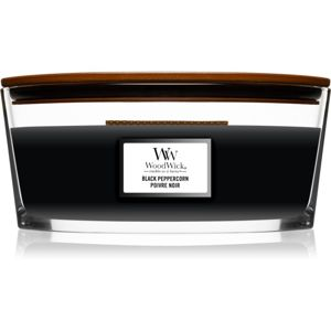 Woodwick Black Peppercorn vonná svíčka s dřevěným knotem (hearthwick) 453,6 g