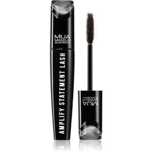 MUA Makeup Academy Amplify Statement Lash řasenka pro objem odstín Black/Brown 12 ml