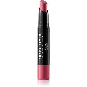 MUA Makeup Academy Super Stylo saténová rtěnka odstín World Class 2 g