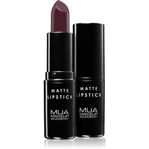 MUA Makeup Academy Matte matná rtěnka odstín Survivor 3,2 g