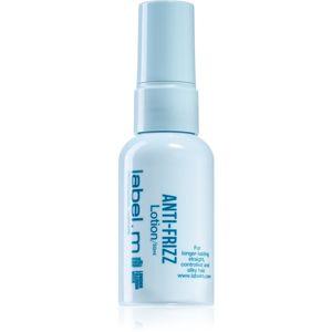 label.m Anti-Frizz lehké uhlazující mléko pro uhlazení krepatějících se vlasů 50 ml