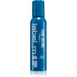 label.m Curl Define pěna na vlasy pro definici vln 150 ml