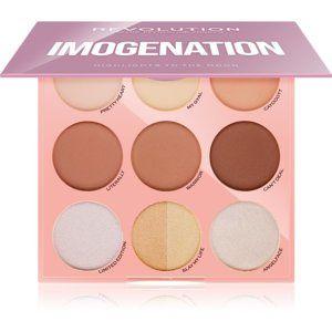 Makeup Revolution Imogenation paleta na kontury obličeje 18 g