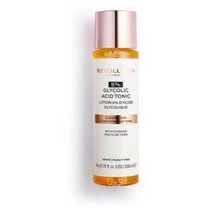 Revolution Skincare 5% Glycolic Acid Tonic čisticí pleťové tonikum s AHA kyselinami