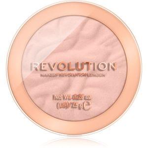 Makeup Revolution Reloaded dlouhotrvající tvářenka odstín Sweet Pea 7,5 g