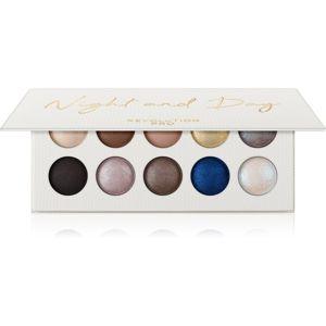 Revolution PRO Colour Focus Palette paletka očních stínů odstín Night And Day 10x1,5 g