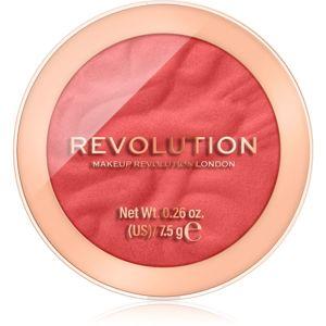 Makeup Revolution Reloaded dlouhotrvající tvářenka odstín Pop My Cherry 7,5 g