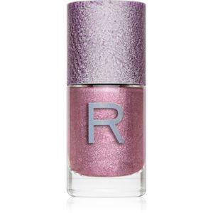 Makeup Revolution Holographic Nail lak na nehty s holografickým efektem odstín Cosmic 10 ml