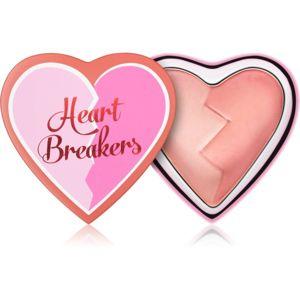 I Heart Revolution Heartbreakers tvářenka s matným efektem odstín Brave 10 g