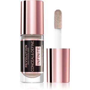 Makeup Revolution Infinite krycí korektor pro redukci nedokonalostí odstín C6.5 5 ml