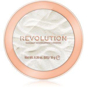 Makeup Revolution Reloaded rozjasňovač odstín Golden Lights 10 g