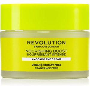 Revolution Skincare Boost Nourishing Avocado vyživující oční krém 15 ml