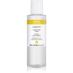 REN Clarimatte™ tonikum čisticí pro smíšenou až mastnou pokožku 150 ml