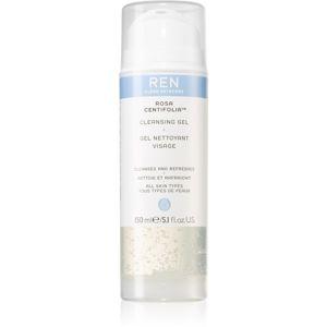 REN Rosa Centifolia™ čisticí gel pro všechny typy pleti 150 ml