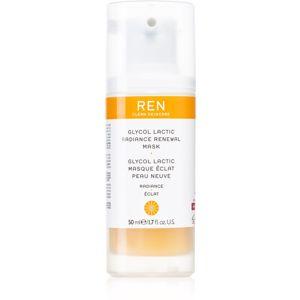 REN Radiance exfoliační maska pro obnovu povrchu pleti 50 ml