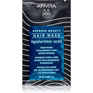 Apivita Express Beauty Hyaluronic Acid hydratační maska na vlasy 20 ml