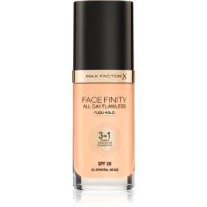 Max Factor Facefinity make-up 3 v 1 odstín 33 Crystal Beige 30 ml