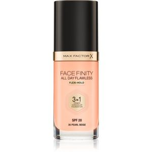 Max Factor Facefinity make-up 3 v 1 odstín 35 Pearl Beige 30 ml