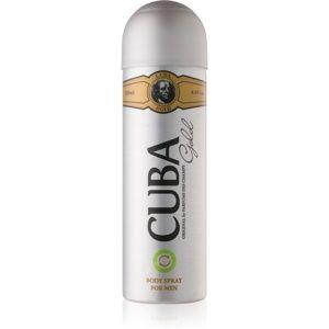 Cuba Gold tělový sprej pro muže 200 ml