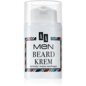 AA Cosmetics Men Beard hydratační krém na obličej a vousy 50 ml