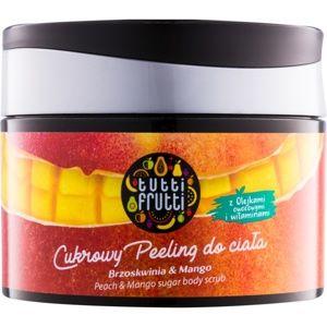 Farmona Tutti Frutti Peach & Mango cukrový tělový peeling
