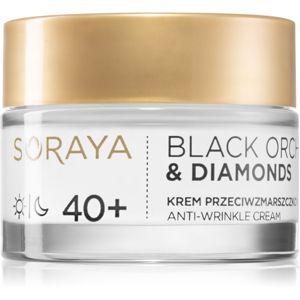 Soraya Black Orchid & Diamonds pleťový krém proti vráskám 40+ 50 ml