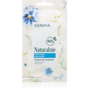 Soraya Naturally plátýnková maska pro zklidnění pleti 17 g