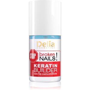 Delia Cosmetics STOP broken nails! keratinová péče pro výživu oslabený