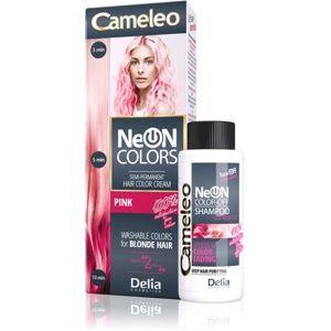 Delia Cosmetics Cameleo Neon Colors vymývající se barva pro blond vlas