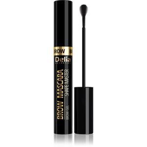 Delia Cosmetics Brow Mascara Shape Master řasenka na obočí odstín 03 Black 11 ml