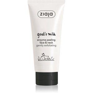 Ziaja Goat's Milk jemný čisticí peeling na obličej a krk