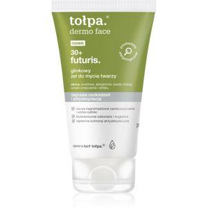 Tołpa Dermo Face Futuris 30+ mycí gel na obličej s jílem 150 ml
