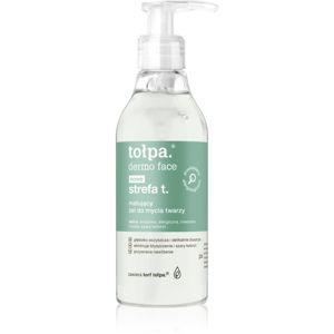Tołpa Dermo Face T-Zone matující čisticí gel 195 ml