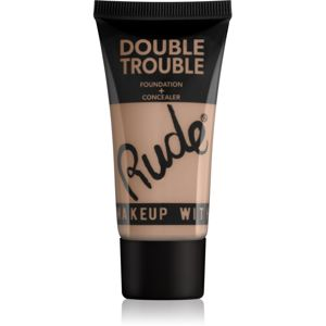 Rude Double Trouble krémový korektor a make-up v jednom odstín 87932 Fair 30 ml