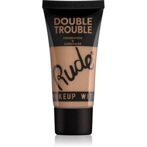 Rude Double Trouble krémový korektor a make-up v jednom odstín 87936 Natural 30 ml