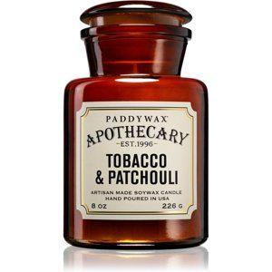 Paddywax Apothecary Tobacco & Patchouli vonná svíčka 226 g