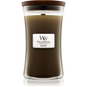 Woodwick Oudwood vonná svíčka 609,5 g velká