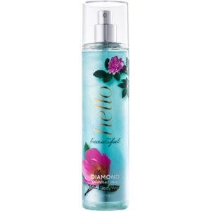 Bath & Body Works Hello Beautiful tělový sprej pro ženy 236 ml se třp